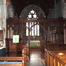 Inside the Church of St Margaret of Antioch