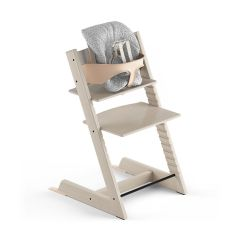 Stokke Chair Harness Cover Rental Madison Tripp Trapp Whitewash Beech With Baby Set And Cushion