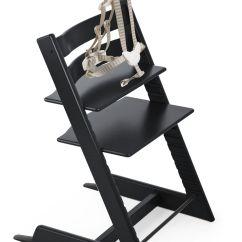 Stokke Chair Harness Ikea Tullsta Covers Uk Tripp Trapp Black