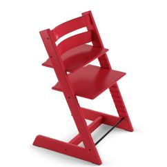 Stokke High Chair Craigslist Table And Chairs Tripp Trapp Red Beech