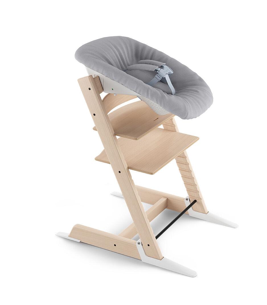 stokke chair harness white resin chairs tripp trapp newborn set grey