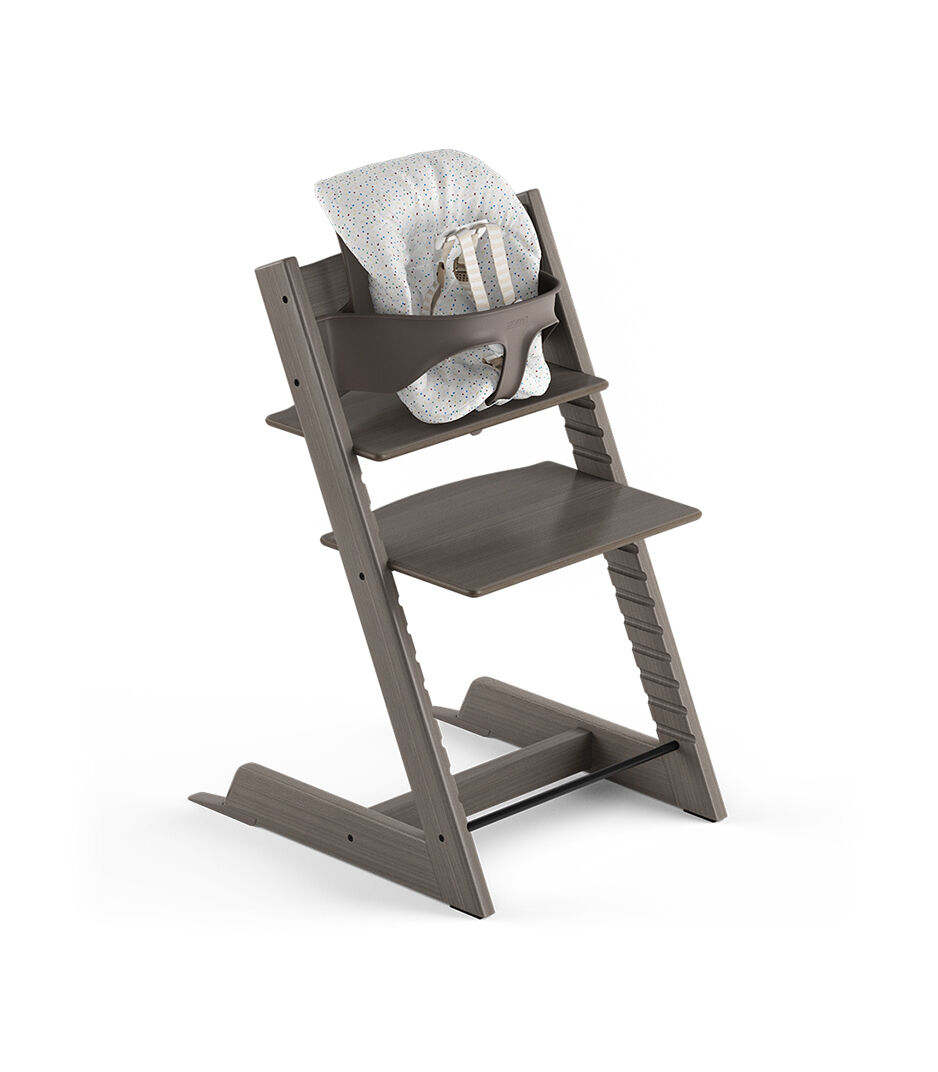 tripp trapp high chair discounted accent chairs hazy grey