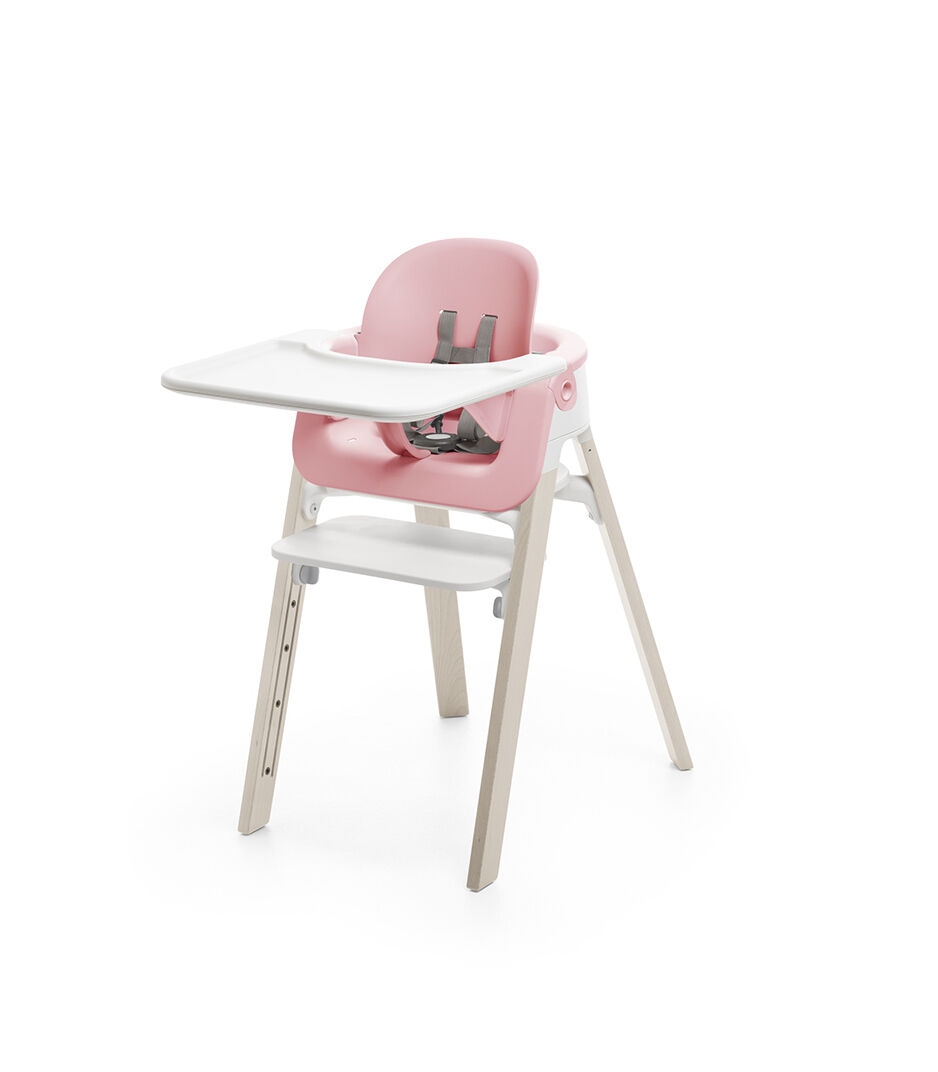 stokke high chair tray covers and sashes ebay steps baby set pink