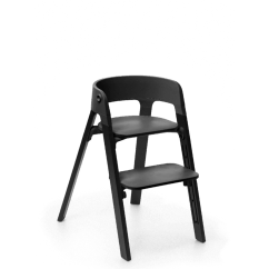 First High Chair Invented Back Chairs For Living Room Stokke Steps A Modern