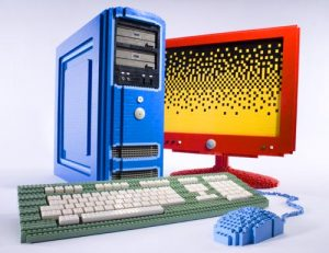 A fully functional PC built out of LEGO