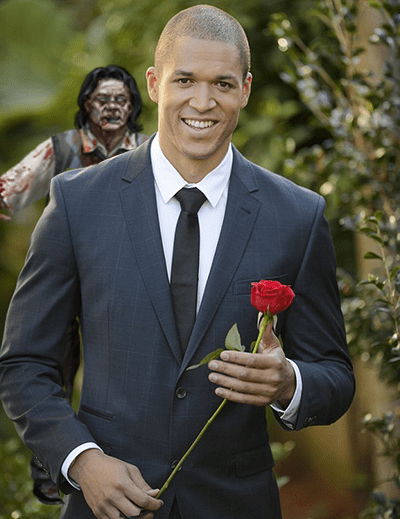 Might want to get that rose before he gets all bitey.