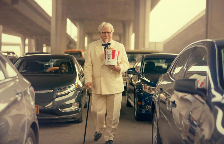 The Colonel Prepares For His Trip To Bilderberg