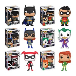 Batman The Animated Series Pops