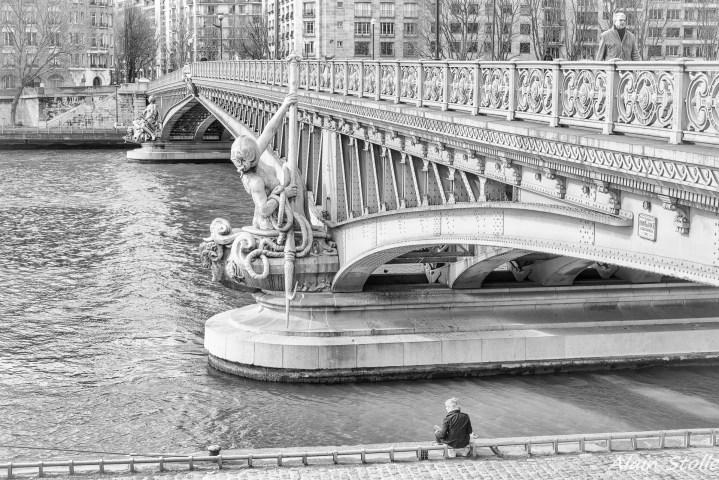 {010} Pont Mirabeau - Paris / 1896