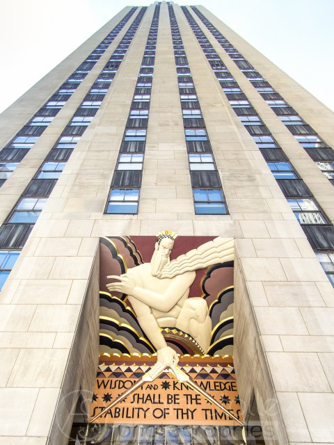 {077} Rockefeller Center - Détail NY City