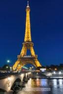 {212} Pont Iéna - Tour Eiffel nuit