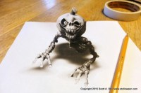 Anamorphic Drawing  STOLLOWEEN