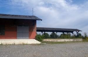 Het station in Kosel