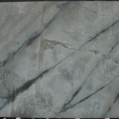 Grey Kitchen Tile Beveled Subway Stone Design - Quartzite Illusion Blue