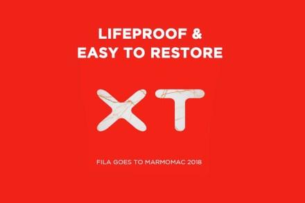 Logo von Fila Marble Aid XT.