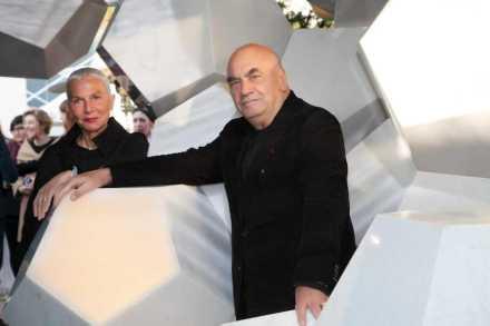 Doriana and Massimiliano Fuksas.