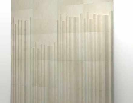 """""""Organo"""" nannten die Designer des Studios Zaven ihre Entwürfe: Es handelt sich um 3 Fliesen mit 3D-Oberfläche..,"""