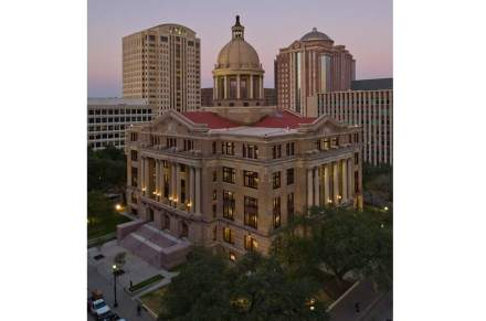 Harris County Courthouse in Houston, Texas.