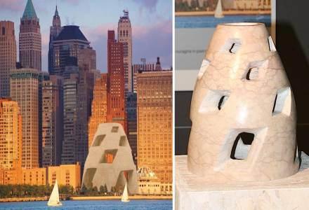 """""""La torre vertigo"""" di Simone Scandola. Come silenziosi testimoni di un'epoca lontana, antichi nuraghe in pietra rivivono in nuovi spazi culturali contemporanei."""