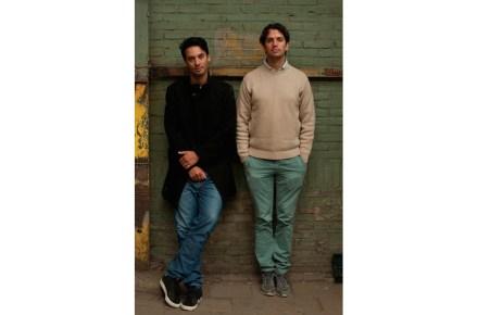 Woes van Haaften (a sinistra), Lex Pott. Foto: Kathrin Zelger
