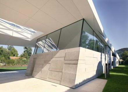 Finalmente, el propio diseño arquitectónico de la casa es especial.