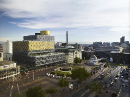 Mecanoo: Library of Birmingham.