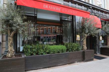 Brasserie Chavot, Mayfair, London.