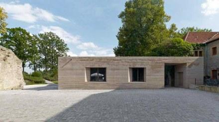 Max Dudler: Neubau für das Besucherzentrum auf der Sparrenburg in Bielefeld.