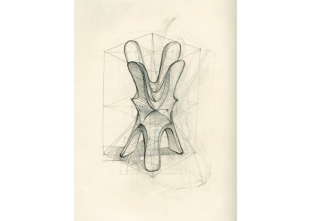 "Digital Lithic Design: ""Quadrilobo"". Raffaello Galiotto, Decormarmi."