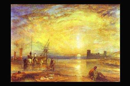 William Turner: Flint Castle (1838). Source: Wikimedia Commons