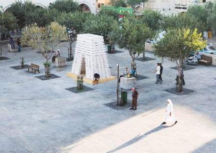 """Stonesourcing Space"" was the name of the project. Its aim: to set in motion a thinking process."