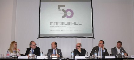 Press conference for Marmomacc 2015. Photo: Veronafiere