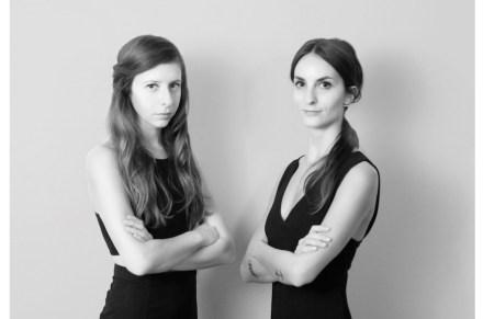 Amen Studio: Federica Ghinoi (links) und Ilaria Corrieri.