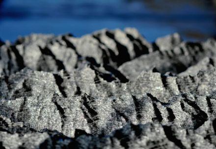 Ongaro Graniti: uma réplica do maciço de São Gotardo no pavilhão suíço. Foto: Francesco Girardi