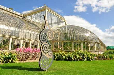 Sunny Wieler: Growth monolith sculpture.