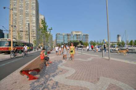 Toronto has gone to great lengths in redeveloping the Lake Ontario waterfront.