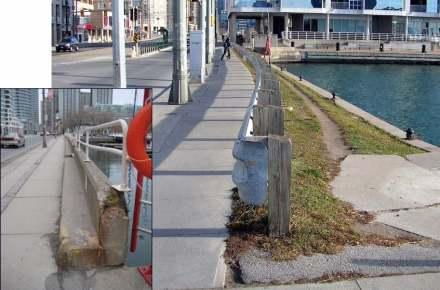 Die Toronto Waterfront vor der Modernisierung. Foto: West8