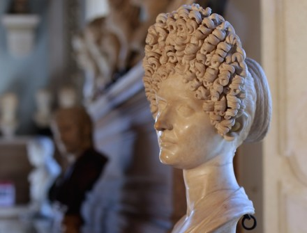 Female Portrait (Fonseca Bust) (110-130 A.D.). White Marble, Capitoline Museums, Rome.