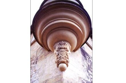 Category Heritage (sculptures), 3rd Prize: Elsa Borrut, detail at the château de Teillan, Aimargues (Gard).