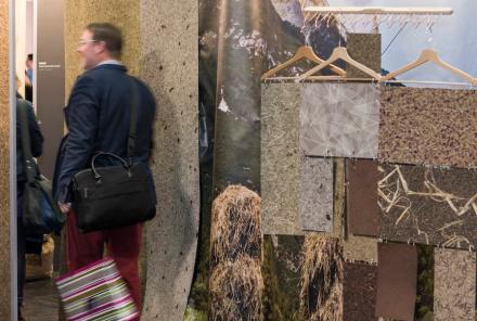 """Natur total an den Wänden: Wandbeläge aus getrockneten Pflanzenteilen, entwickelt von der jungen österreichischen Firma <a href=""""http://www.organoids.com/""""target=""""_blank"""">Organoid Technologies</a>. Foto: Organoid Technologies"""
