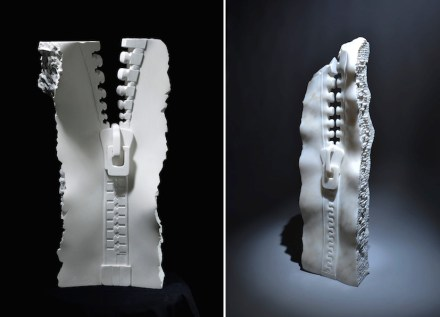 "Serdar Kaynak: left: ""Zipper"", right: ""Naive 2""."