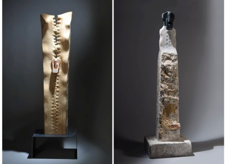 "Serdar Kaynak: left: ""Naive 1"", right: ""Eternal Journey""."