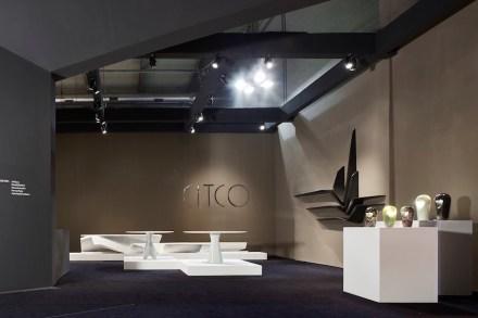 Citco's exhibit area at the Salone del Mobile 2016.