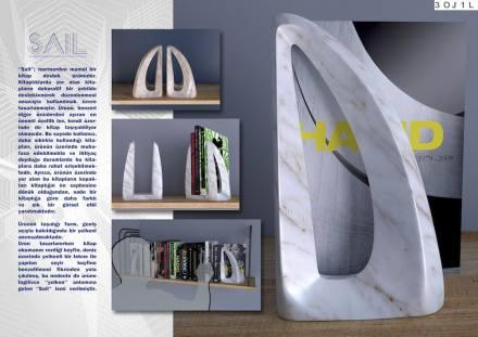 Professional designers, decorative items, Third Prize: Berat Reha Demir.