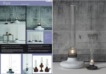 Professional designers, decorative items, Honorable Mention: Özge Dinç, Kerem Ekinci.
