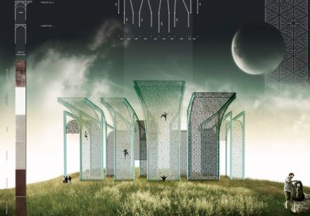 """The picture shows one of the winning projects in the architecture category: """"Scalarte"""" art in scale"""" by Luis Miguel Sánchez (Escuela Técnica Superior de Arquitectura, Madrid, Spain)."""