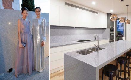 Levantina Fashion Night: Granit Bianco Trevi, Naturamia Collection.