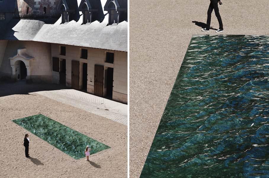 Mathieu Lehanneur: Instantáneas de la superficie del agua reflejada ...