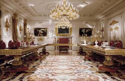 Budri: villa privada, salón de conferencia.
