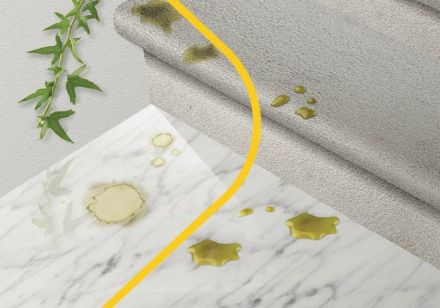 """Fila, Italian specialist for cleaning and surface protection of various materials, not least of all natural stone presents its """"green"""" line."""